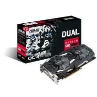 Asus Carte graphique AMD Radeon RX 580 - DUAL-RX580-O4G - 4Go GDDR5