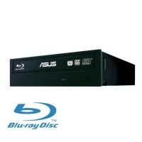 ASUS Graveur interne Blu-Ray 14x - Lecteur 12x Blu-Ray - Interface SATA - Mémoire tampon 4 Mo - Format compatible BDXL, DVD et C