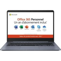 "ASUS PC Portable - E406SA-BV251TS - 14,1"" HD - Intel Pentium N3700 - RAM 4Go-Stockage 64Go eMMC-Win10+Office 365 Personnel inclu"