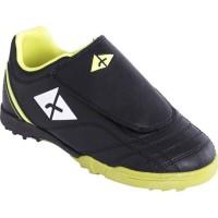 ATHLITECH Chaussures de Foot pour terrain stabilisé enfant TF 104 - Noir