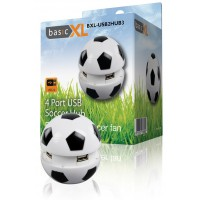 BasicXL hub USB USB 2.0 4 ports ballon de foot