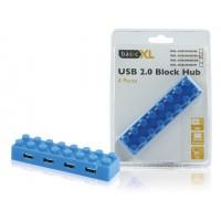 HUB USB 2.0 BLEU BASIC XL