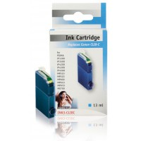 König cyan inkcartridge for Canon pixma printers and multifunctionals. compatible with Canon CLI-8C