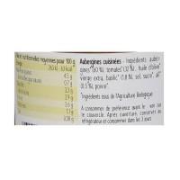 Aubergines basilic Bio - 360g