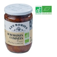 Aubergines Méditerranéens Bio - 585 g