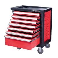 AUTOBEST Servante Pro équipée - 7 tiroirs - 170 outils