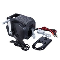 AUTOBEST Treuil électrique 12V - Câble acier 9 m - 900 kg