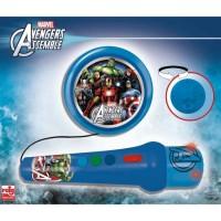 AVENGERS Micro A Main Avengers Avec Amplificateur Et Rhytmes