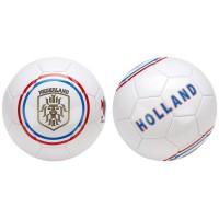 AVENTO Ballon de football Pays Bas - Blanc