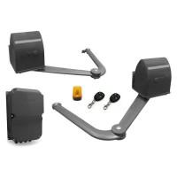 AVIDSEN Kit de motorisation a bras articulés B250 - 12 VDC - 2 battants - 5 m x 500 kg maxi - Gris