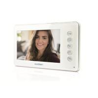 """AVIDSEN Moniteur vidéo YLVA supplémentaire écran LCD ultra plat 4,3"""" pour visiophone"""