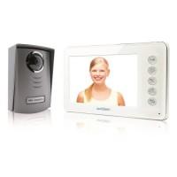 AVIDSEN Visiophone 2 fils Ylva avec écran LCD couleur ultra plat 4,3 pouces