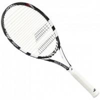BABOLAT Raquette de tennis DRIVE 105 WHITE BLACK U - Blanc / Noir