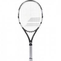 BABOLAT Raquette de tennis DRIVE 109 WHITE BLACK U - Blanc / Noir