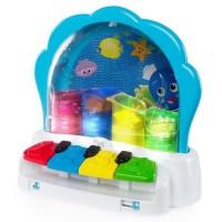 BABY EINSTEIN La palourde musicale Pop & Glow Piano? - Bleu