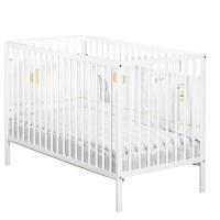 BABY PRICE - lit 120x60 tout barreaux blanc first
