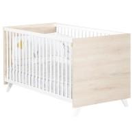 Babyprice - SCANDI NATUREL - Lit Evolutif Little Big Bed 140x70