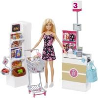 BARBIE - Coffret Supermarché Et Poupée