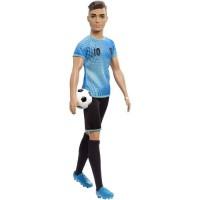BARBIE - Ken Footballeur - Poupée Mannequin - Theme Métiers
