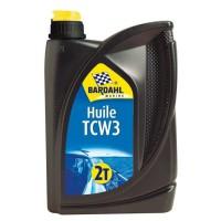 BARDAHL Huile moteur 2 temps TCW3 - 2 l