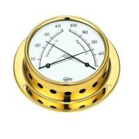 BARIGO Thermometre Hygrometre Marine Laiton Tempo