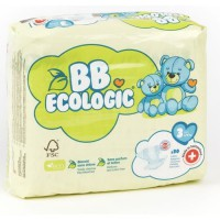 BEBE ECOLOGIC - Couches taille 3 - 30 couches