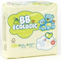 BEBE ECOLOGIC - Couches taille 4 - 28 couches