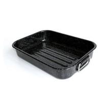 BEKA Plat a four Kitchen Roc - 40 x 29 cm - Noir