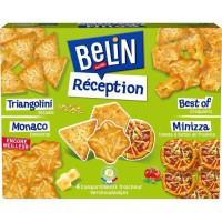 BELIN Gateaux Apéritifs Boîte réception 4 saveurs 380 g