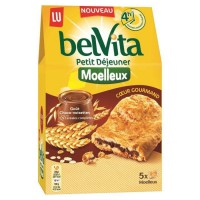 Belvita moelleux coeur gourmand chocolat noisettes 250G
