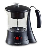 BEPER 90836 Machine a thé - 700ml - 600 W - Noir