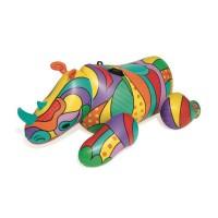 BESTWAY Chevauchable Fashion Pop Rhino - 201 x 102 cm - Bouée gonflable