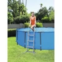 BESTWAY Echelle sécurité - 2 x 3 marches - Pour piscine H 107