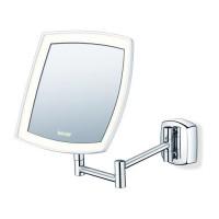 BEURER BS 89 Miroir cosmétique grossissant mural pour maquillage - Eclairage LED