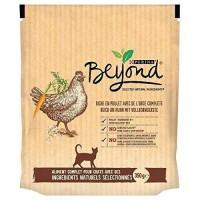 BEYOND Croquettes - Riche en poulet avec de l'orge complete - Pour chat adulte - 350 g