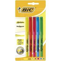 BIC - Surligneur Brite Liner BIC Highlighter assortis x5