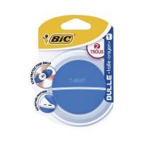 BIC Bulle Taille-Crayons 2 Trous avec Etui Protecteur - Blister de 1
