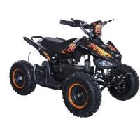 BIKEROAD Quad Electrique Raptor 800W Orange avec LED - Quad enfant