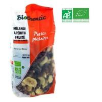 BIOTHENTIC Mélange apéritif fruité - BIO - 300 g - Fabriqué en France