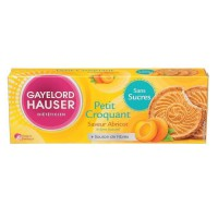 Biscuit Croquant abricot Sans gluten 120g