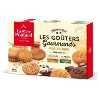 """Biscuiterie la Mere Poulard Boite Assortiment """"Les Gouters Gourmands"""" 375G"""