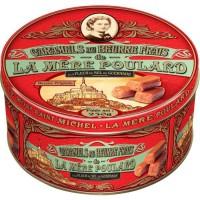 Biscuiterie la Mere Poulard Boite Fer Caramels au Beurre Salé (Rouge) 250g