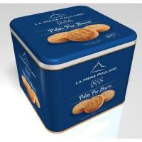 Biscuiterie la Mere Poulard Coffret Fer Palets 500g