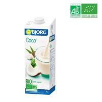 BJORG Boisson a base de lait de coco - Biologique - 1 L