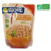 BJORG Boulghour Quinoa sésame Bio 250g