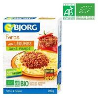 BJORG Farce aux légumes bio - 240 g