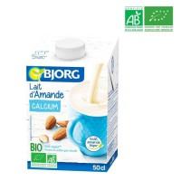BJORG Lait d'Amande Calcium Bio - 50 cl
