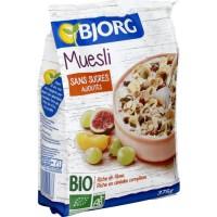 Bjorg Muesli sans sucre ajouté 375g