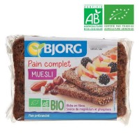 BJORG Pain Complet Muesli Bio - 300 g