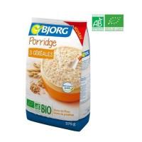BJORG Porridge 3 Céréales Bio 375g